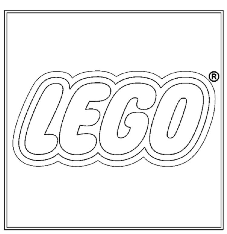 Lego Logo Coloring Pages