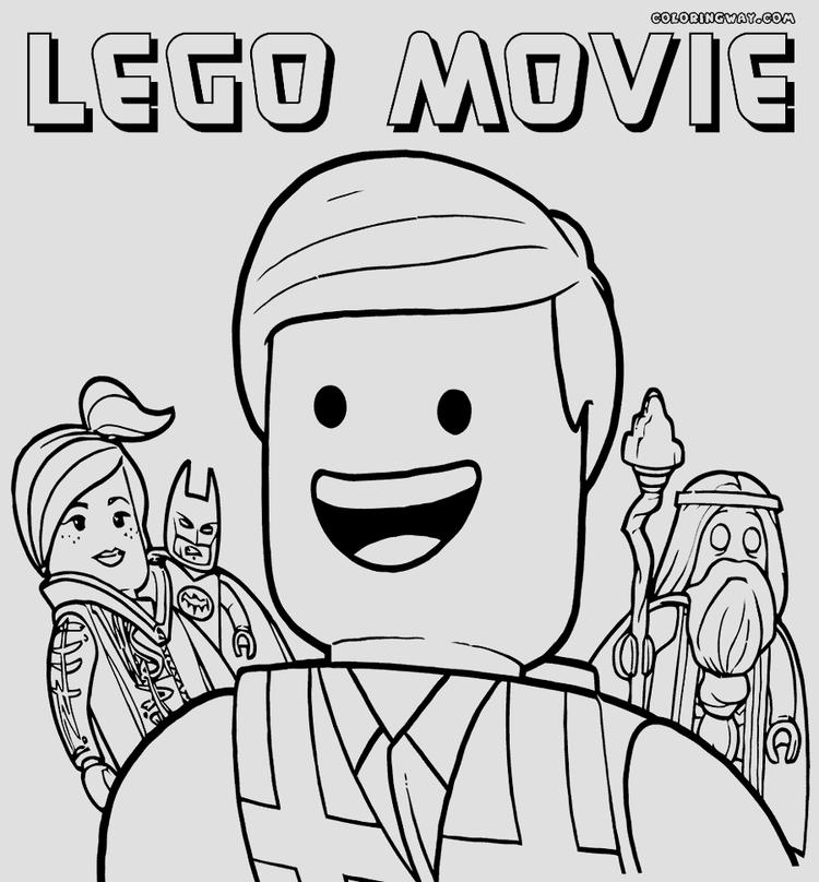 Lego Movie Emmet Coloring Picture Full Resolution