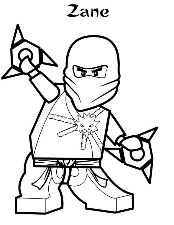 Lego Ninja Coloring Pages For Kids