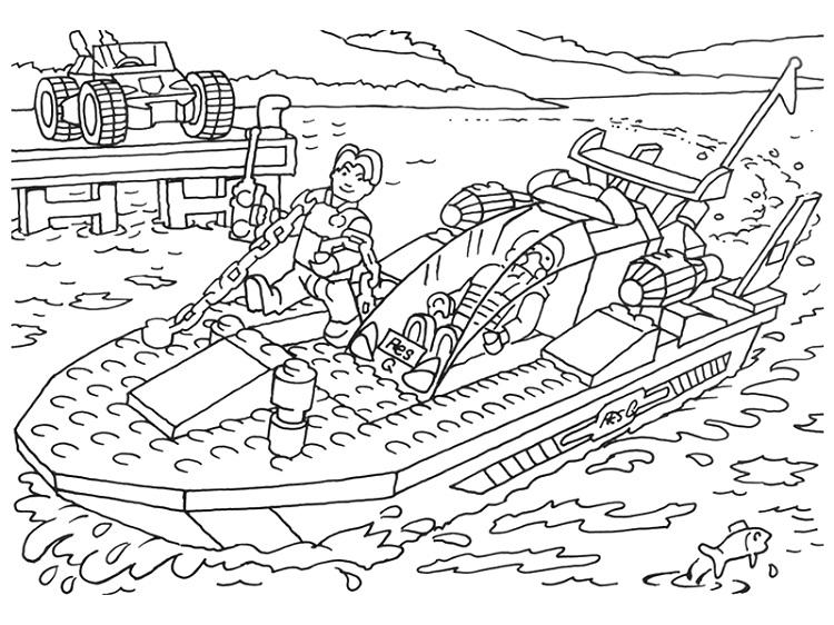 Lego Pharaohs Quest Coloring Pages