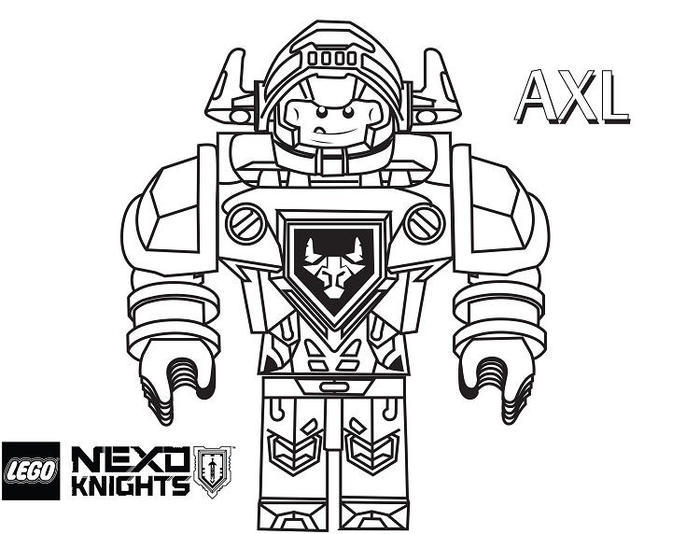 Lego Robots Coloring Pages