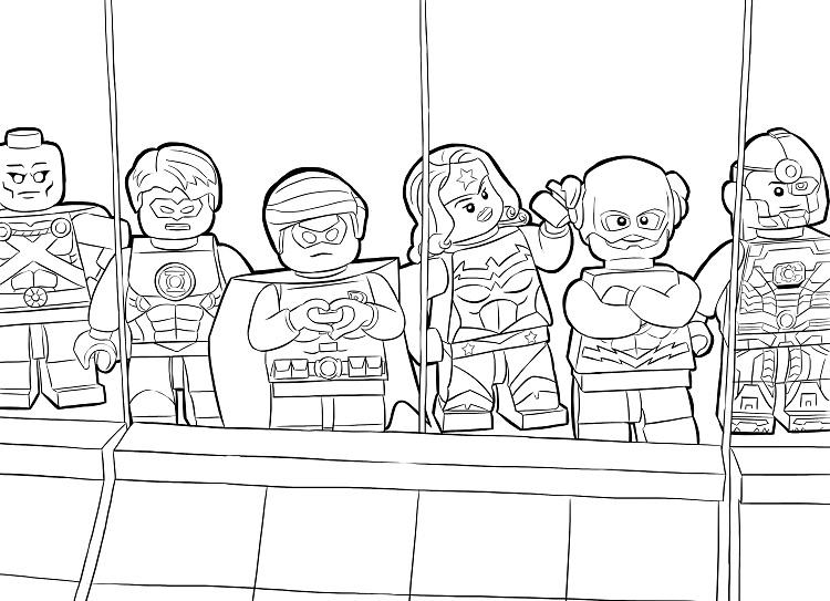 Lego Ultra Agents Coloring Pages