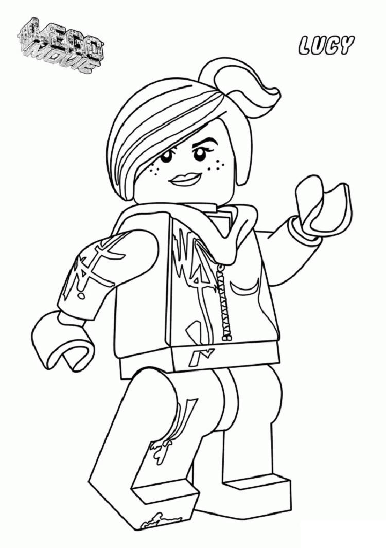 Lego Wyldstyle Coloring Pages