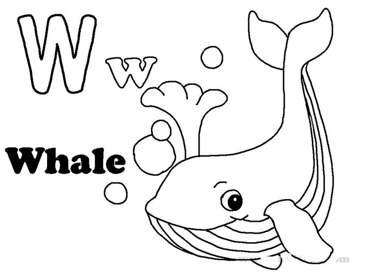 Letters Coloring Pages To Print