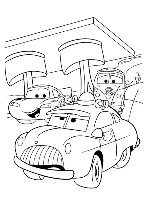 Lightning Mcqueen And Friends Coloring Pages