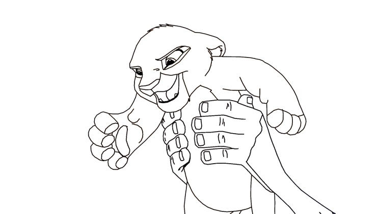 Lion King 2 Kiara Coloring Pages