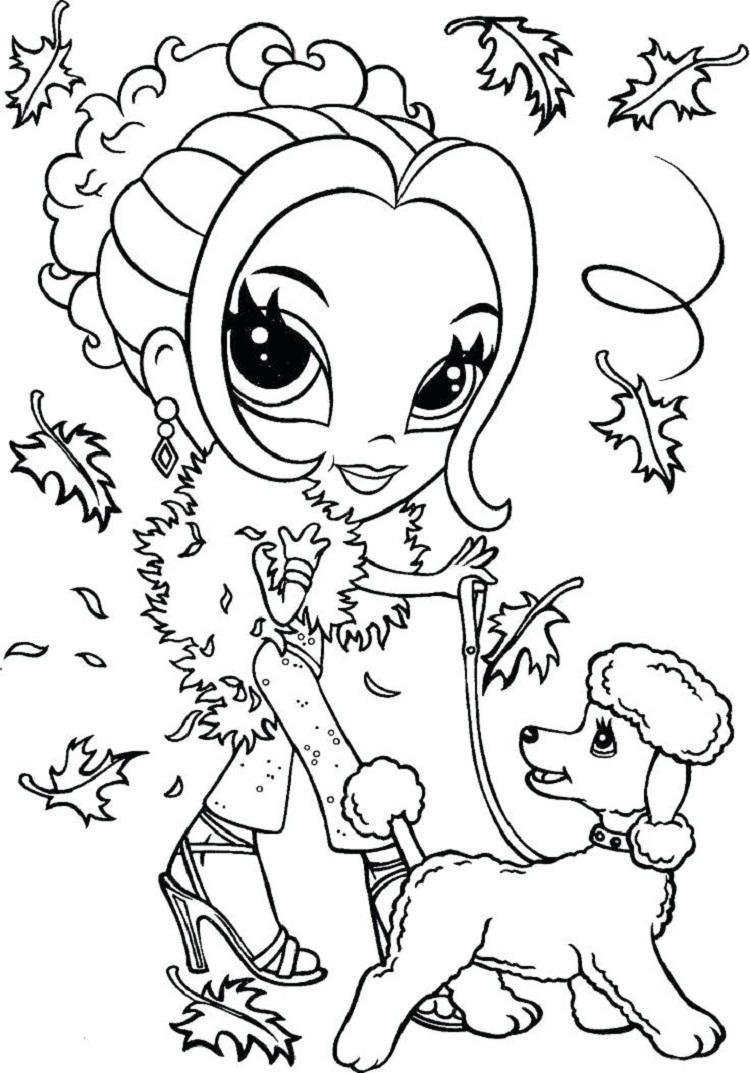 Lisa Frank Animal Coloring Pages