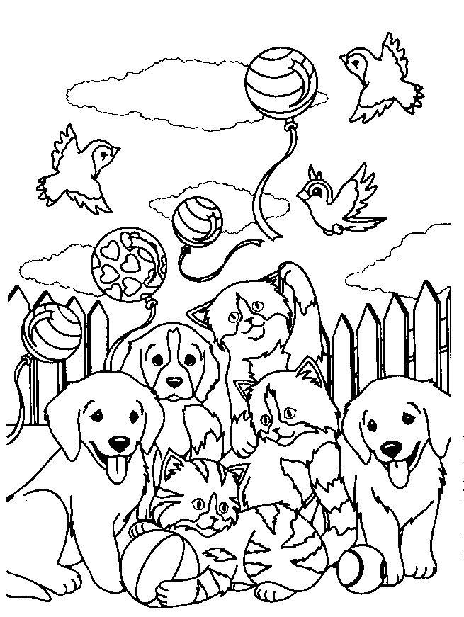 Lisa Frank Coloring Pages Of Animals Printable