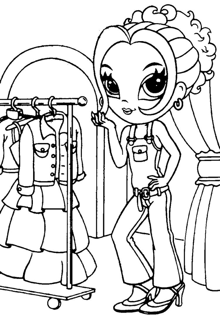 Lisa Frank Coloring Pages Printable For Girls