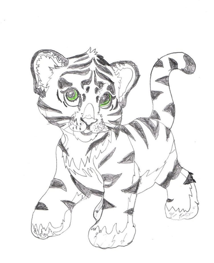 Lisa Frank Tiger Coloring Pages Printable