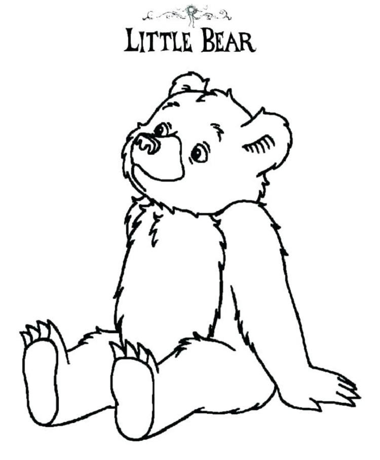 Little Bear Coloring Pages
