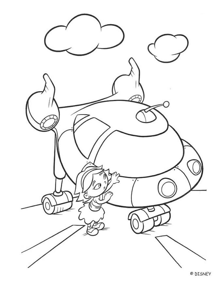 Little Einsteins Coloring Pages June And Rocket