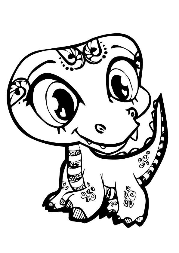 Littlest Pet Shop Coloring Pages Printable