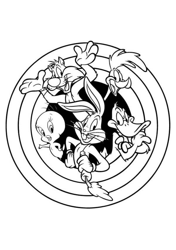 Looney Tunes The Series Coloring Pages