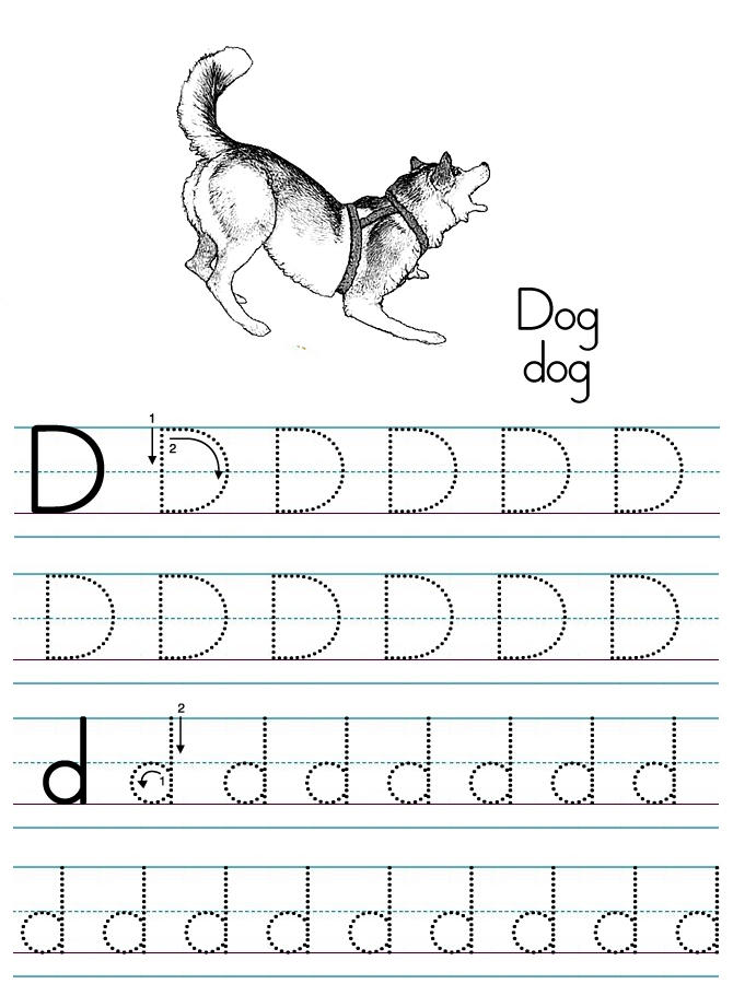 Love Abc Tracing Coloring Pages 1