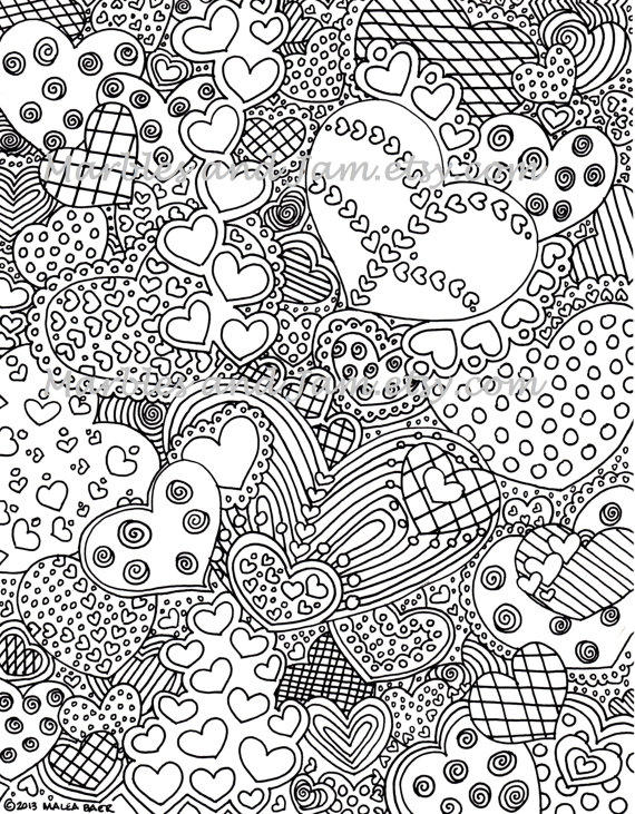 Love Coloring Pages For Teenagers Difficult Fairy 1