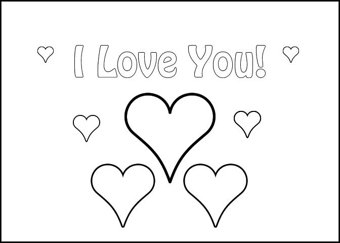 Love Coloring Pages Love Letter