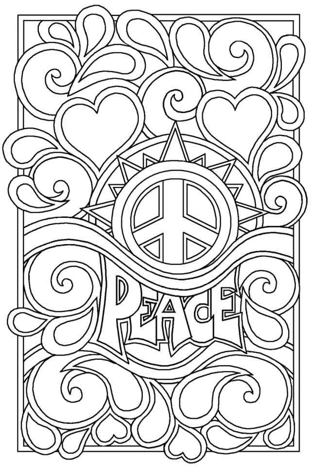 Love Coloring Pages Printable For Adults