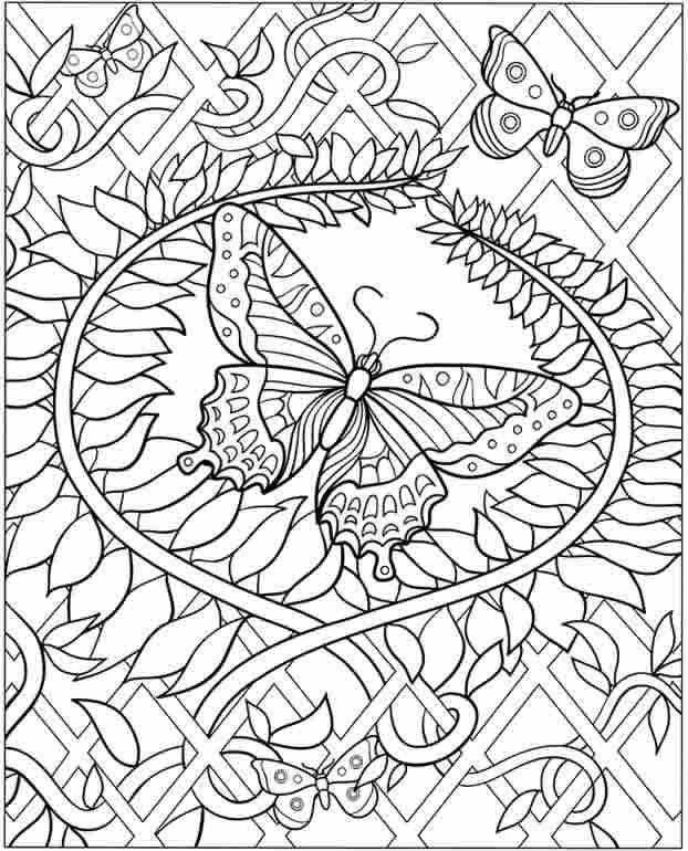 Lovely Coloring Pages For Teenagers Difficult Color By Number