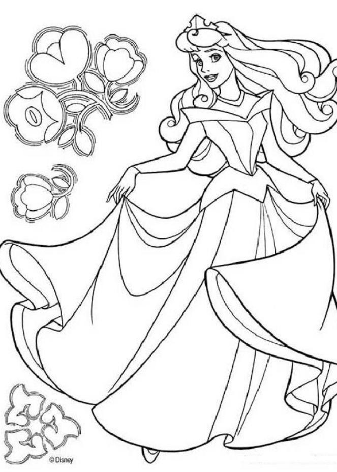 Lovely Disney Wedding Coloring Pages