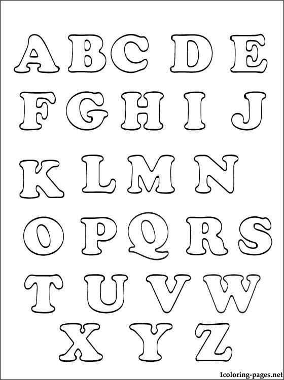 Lovely Free Printable Abc Coloring Pages 1