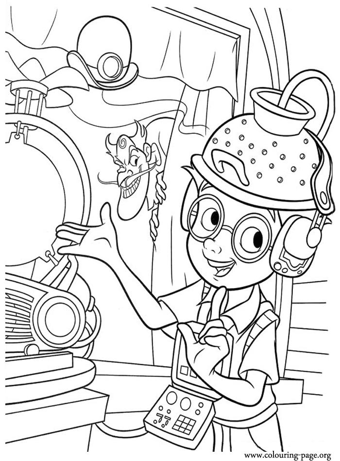 Lovely Science Coloring Pages