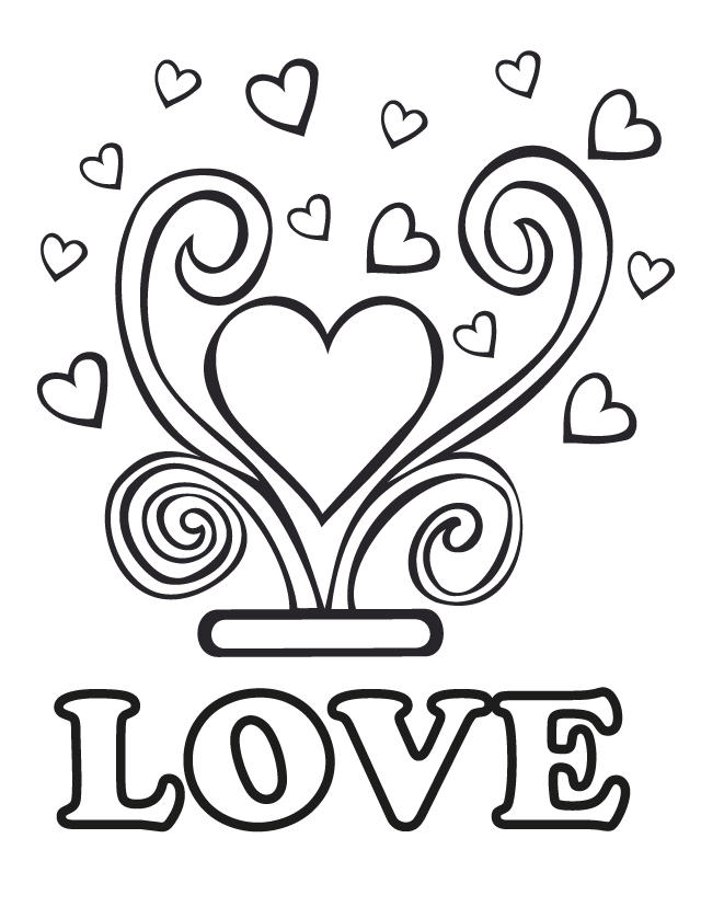 Lovely Wedding Coloring Pages