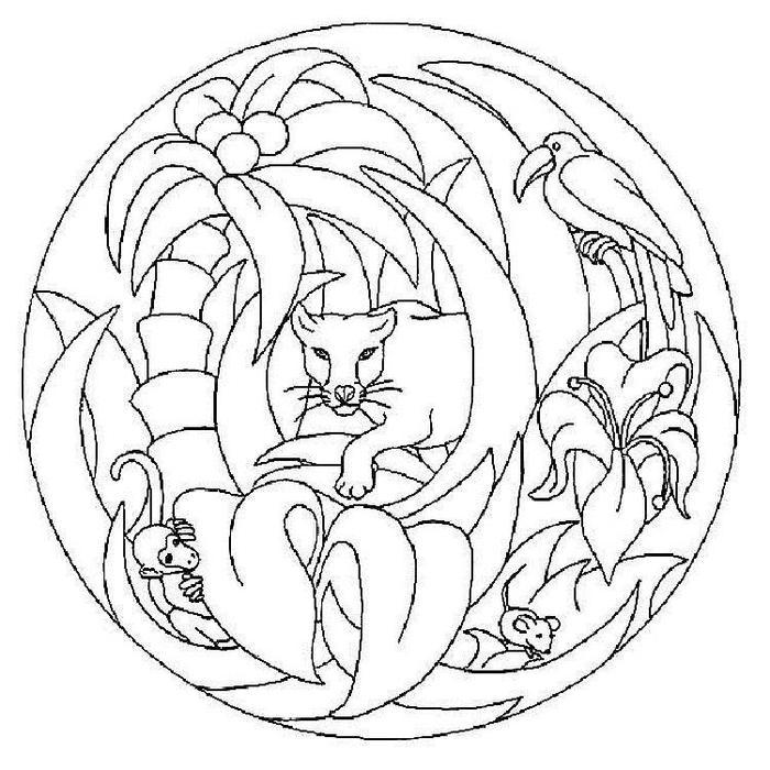 Mandala Coloring Pages For Boys