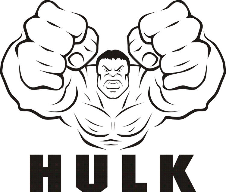 Marvel Coloring Pages Hulk Free