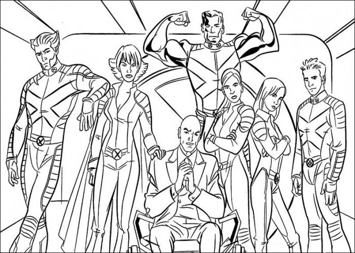 Marvel Coloring Pages To Print