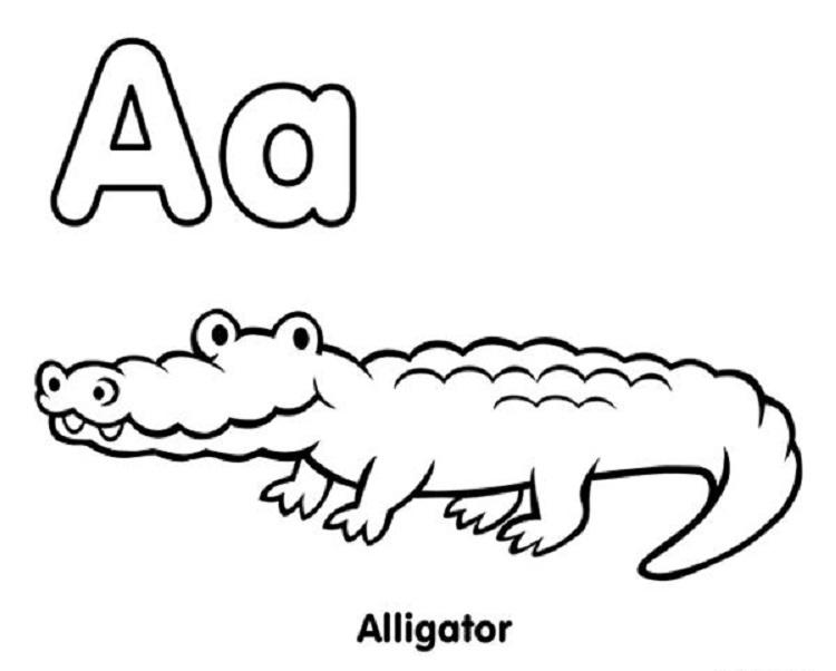 Mattel Alphabet Coloring Pages