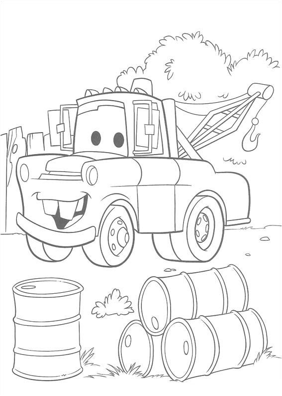 Matter Disney Cars Coloring Pages For Kids