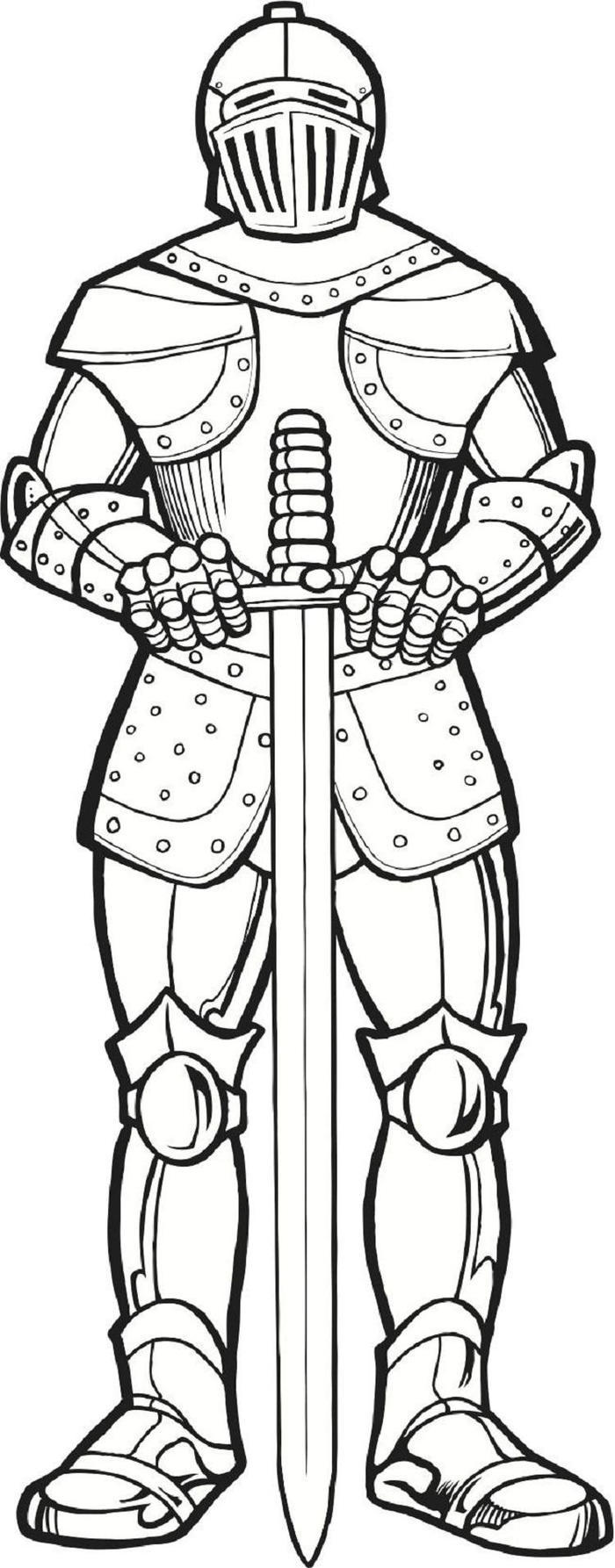 Medieval Times Knights Coloring Pages
