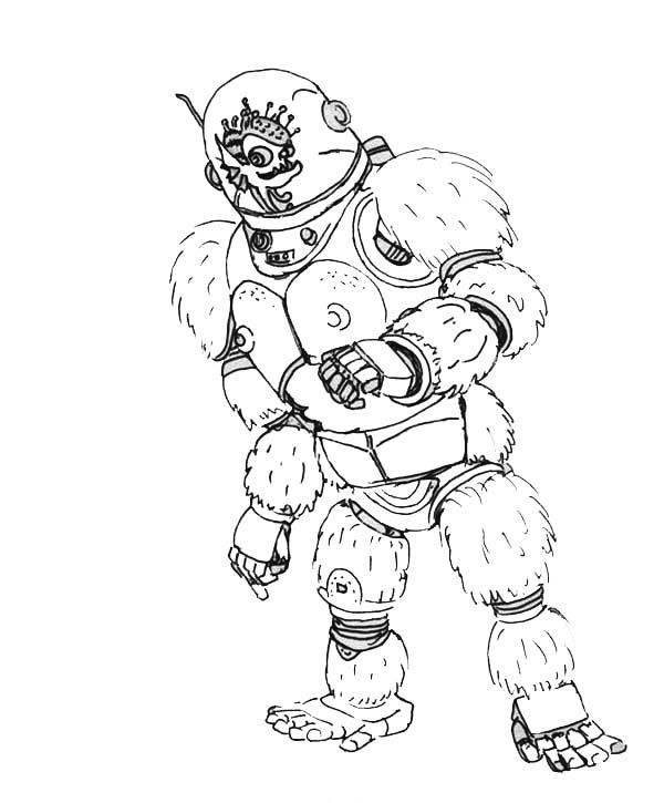 Megamind Friend Minion Dress Like A Gorilla Coloring Pages