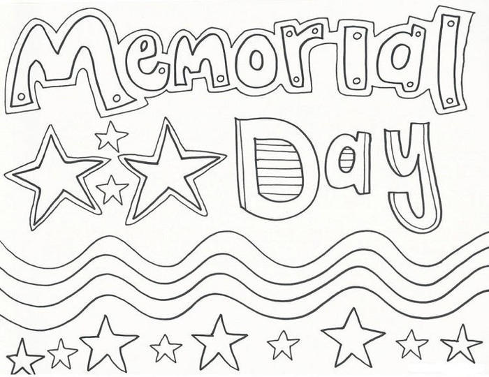Memorial Day Coloring Pages For Children