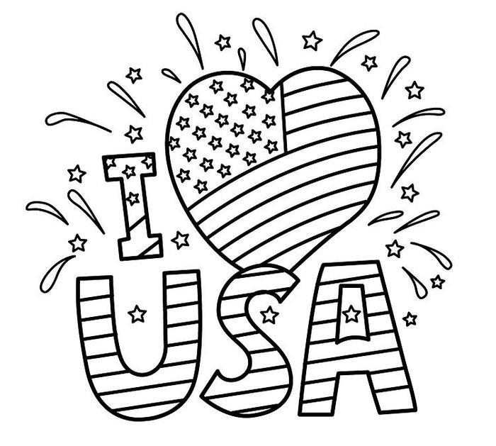 Memorial Day Coloring Pages Online