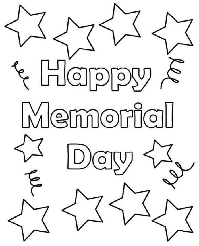Memorial Day Coloring Pages To Print