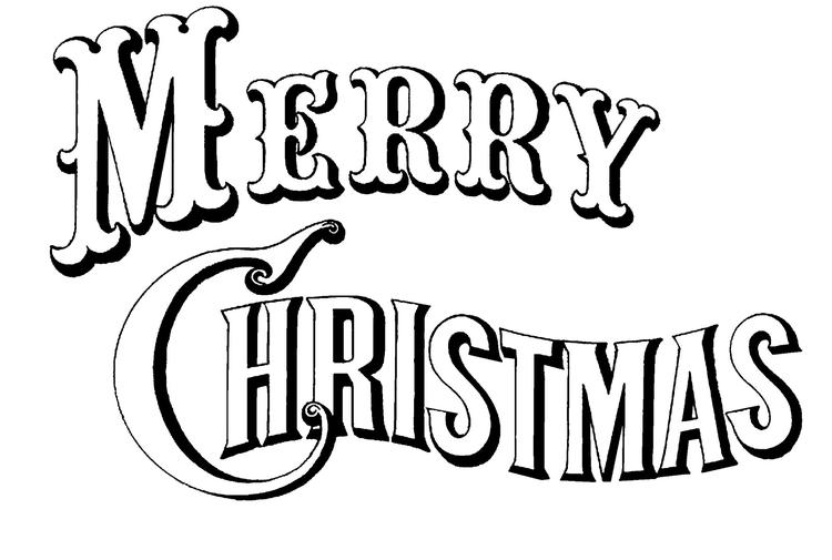 Merry Christmas Coloring Pages Printable 2