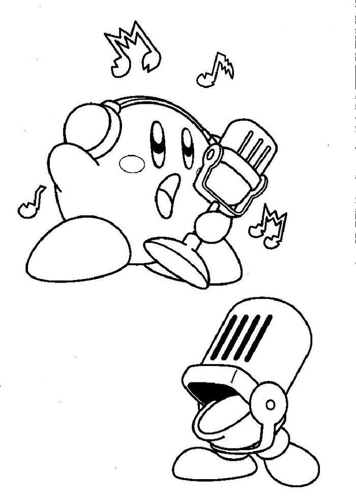 Mike Kirby Coloring Pages