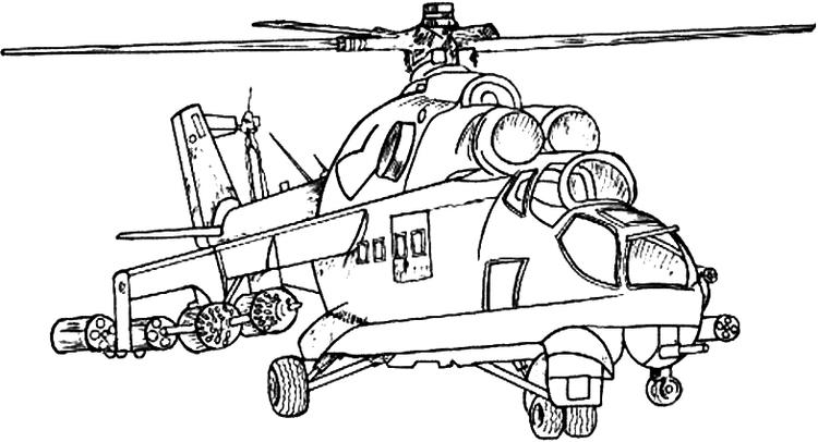 Military Coloring Pages Apache
