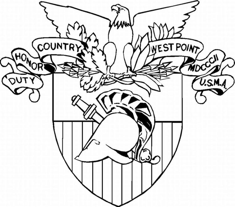 Military Coloring Pages Logo