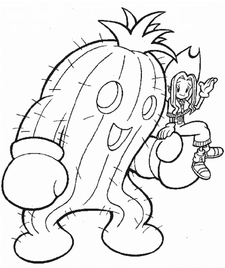Mimi Digimon Coloring Pages