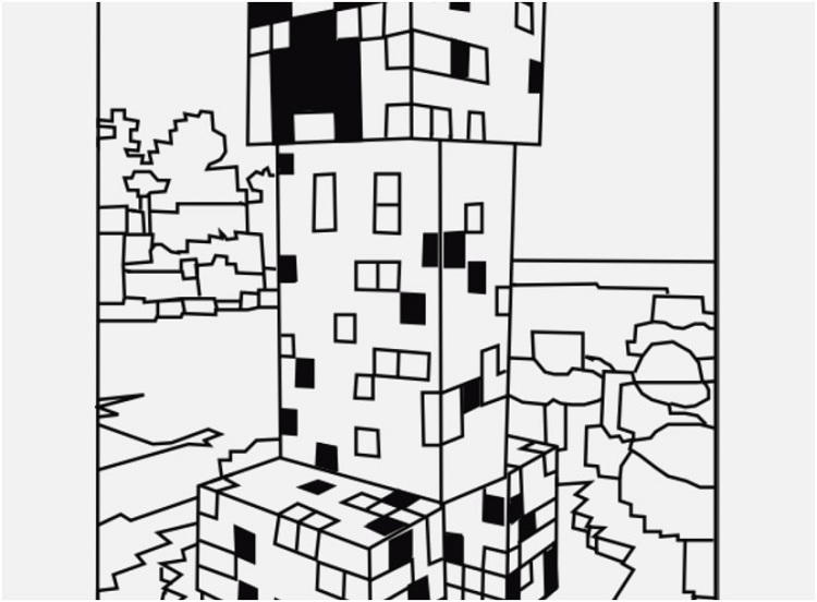 Minecraft Coloring Pages Free Printable Best Pig