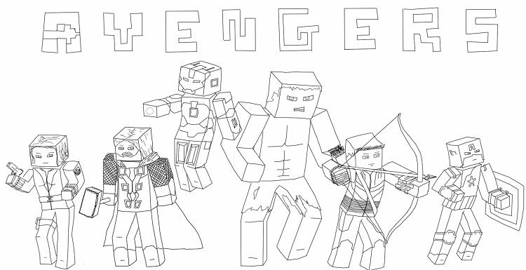 Minecraft Star Wars Coloring Pages