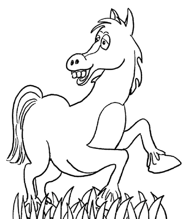 Mini Horse Coloring Pages
