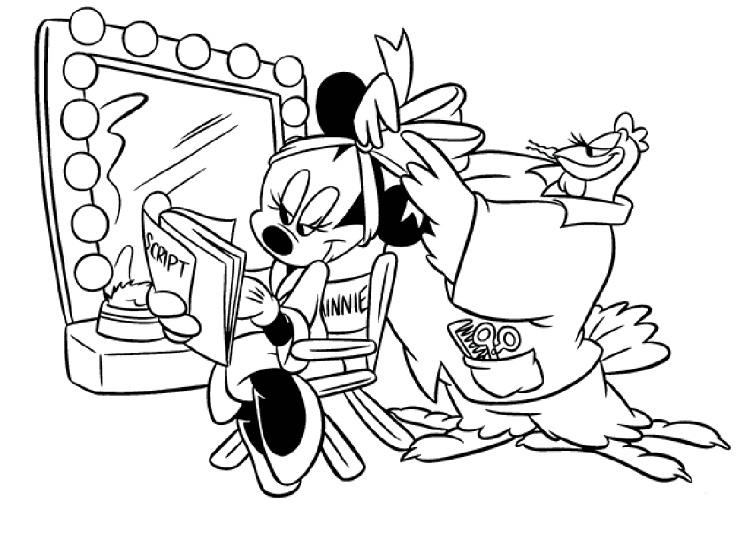 Minnie Mouse Jumbo Coloring Pages