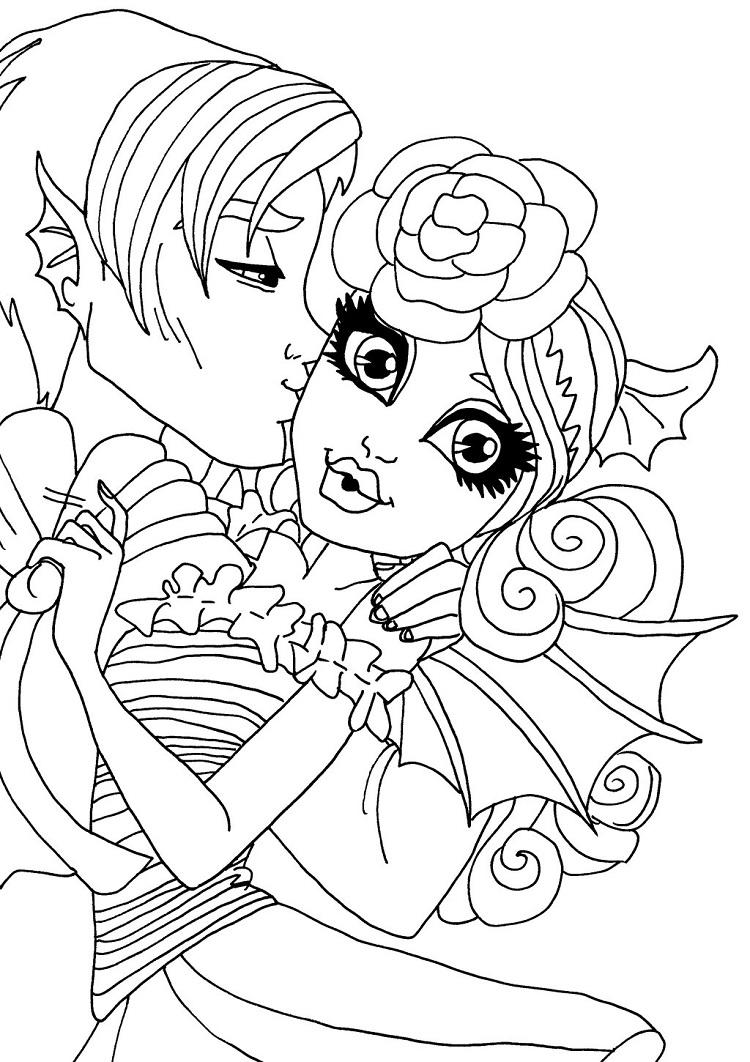 Monster High Coloring Pages Deviantart