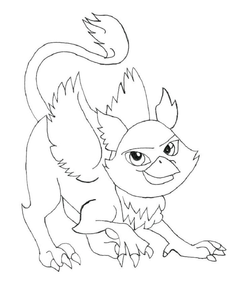 Monster High Coloring Pages Their Pets