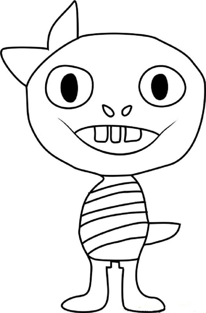 Monster Kid Undertale Coloring Pages