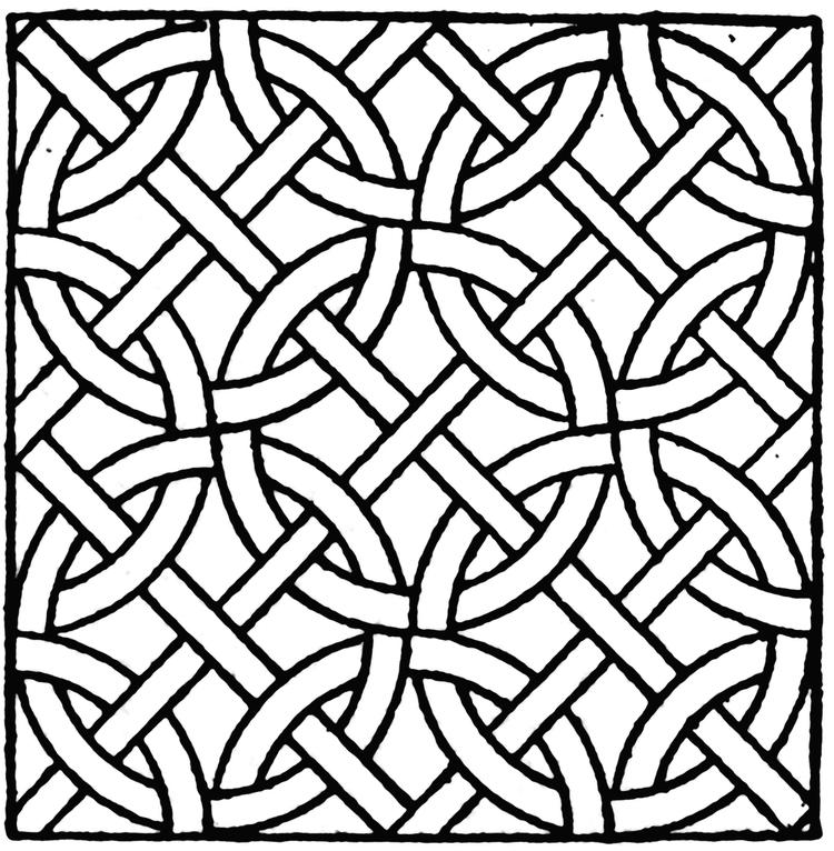 Mosaic Coloring Pages For Kids